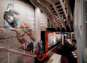 diseño de local comercial moda Nike