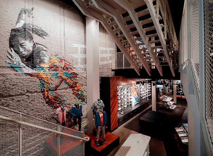 Diseño de interiores de espacios comerciales
