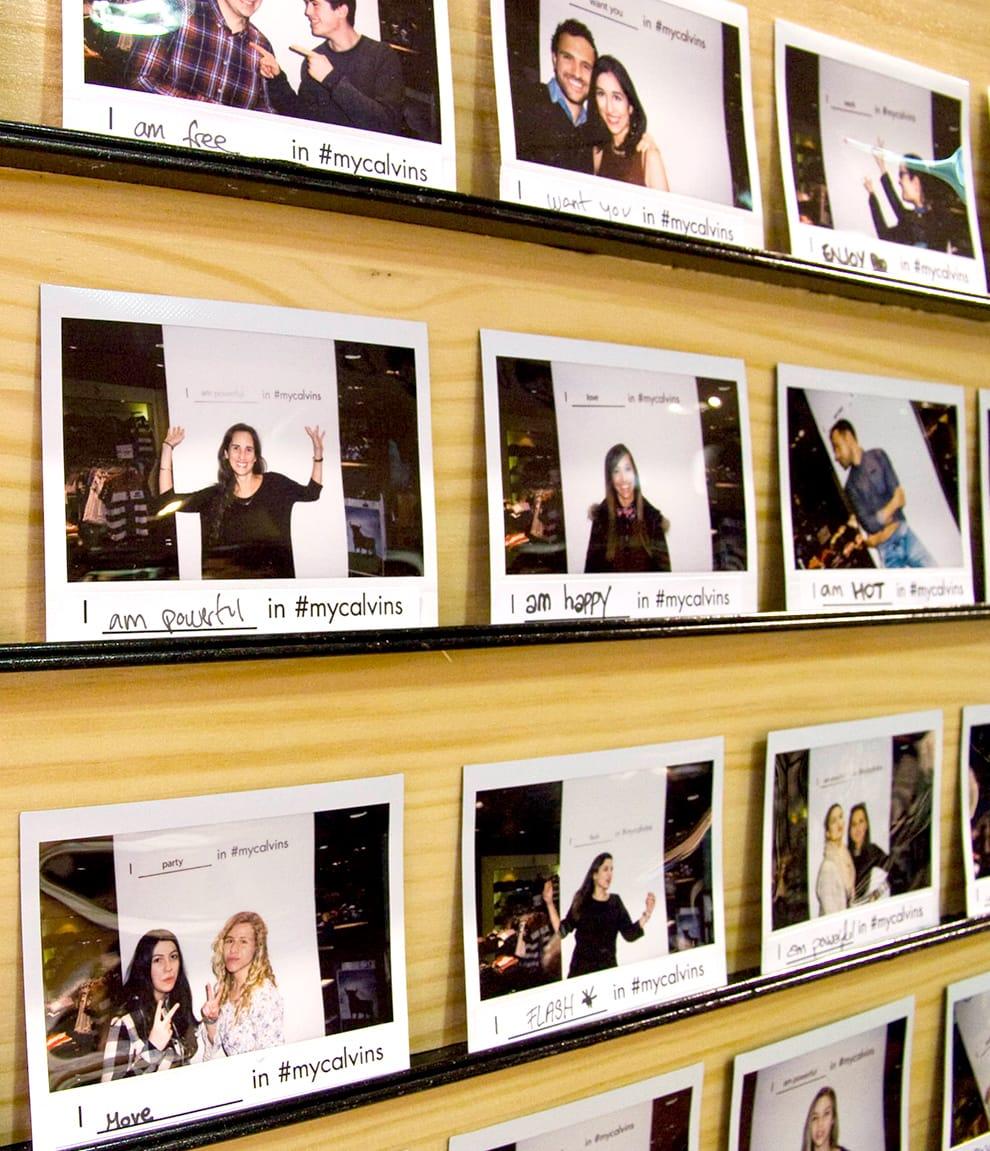 Impresiones personalizadas para campañas y promociones de Calvin Klein