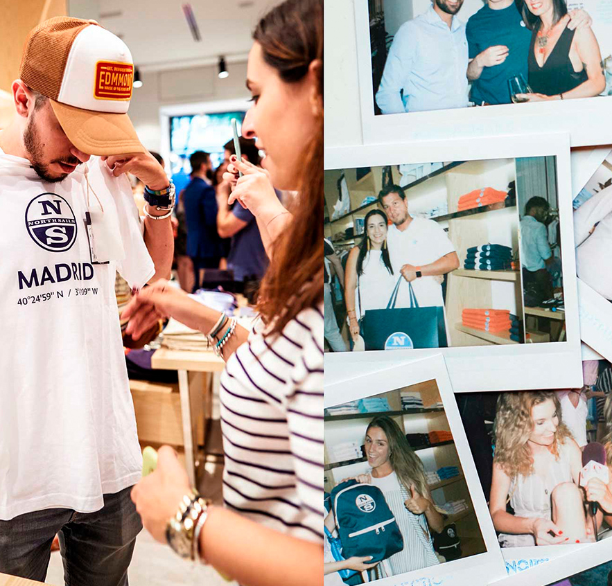 Goodies y promociones en la inauguración de la tienda de North Sails