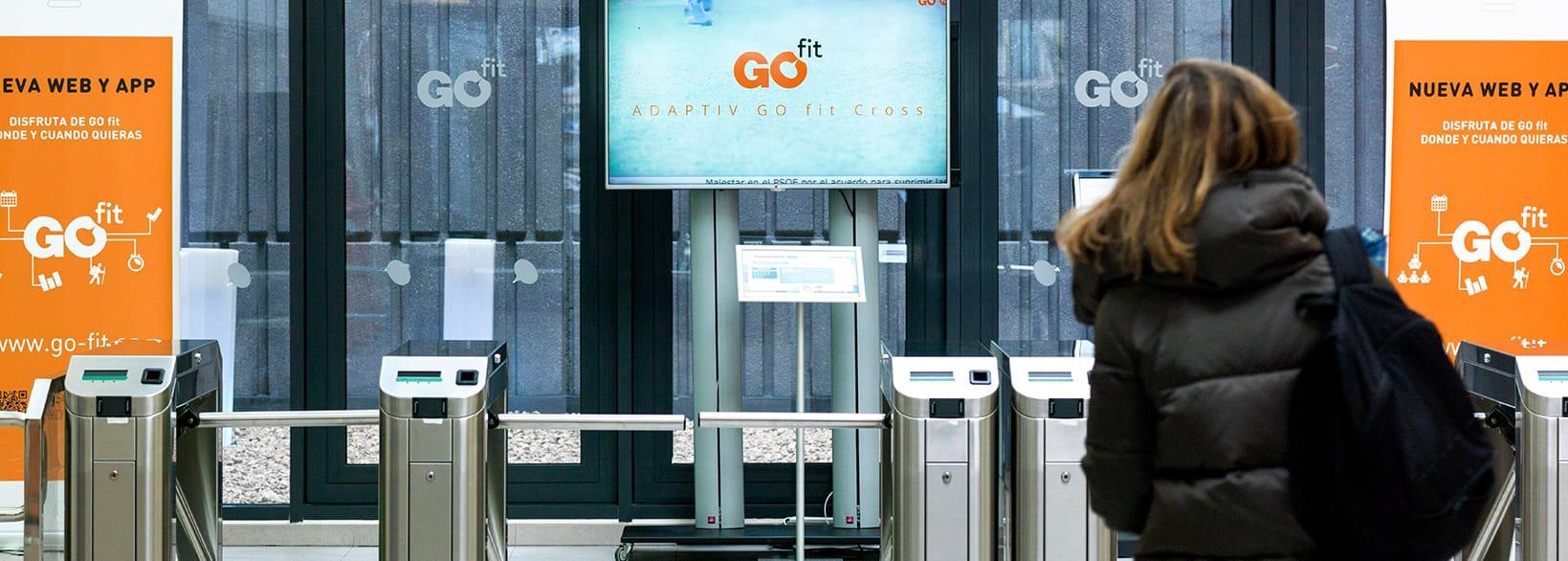Tecnología aplicada al retail para la comunicación en el establecimiento de GoFit