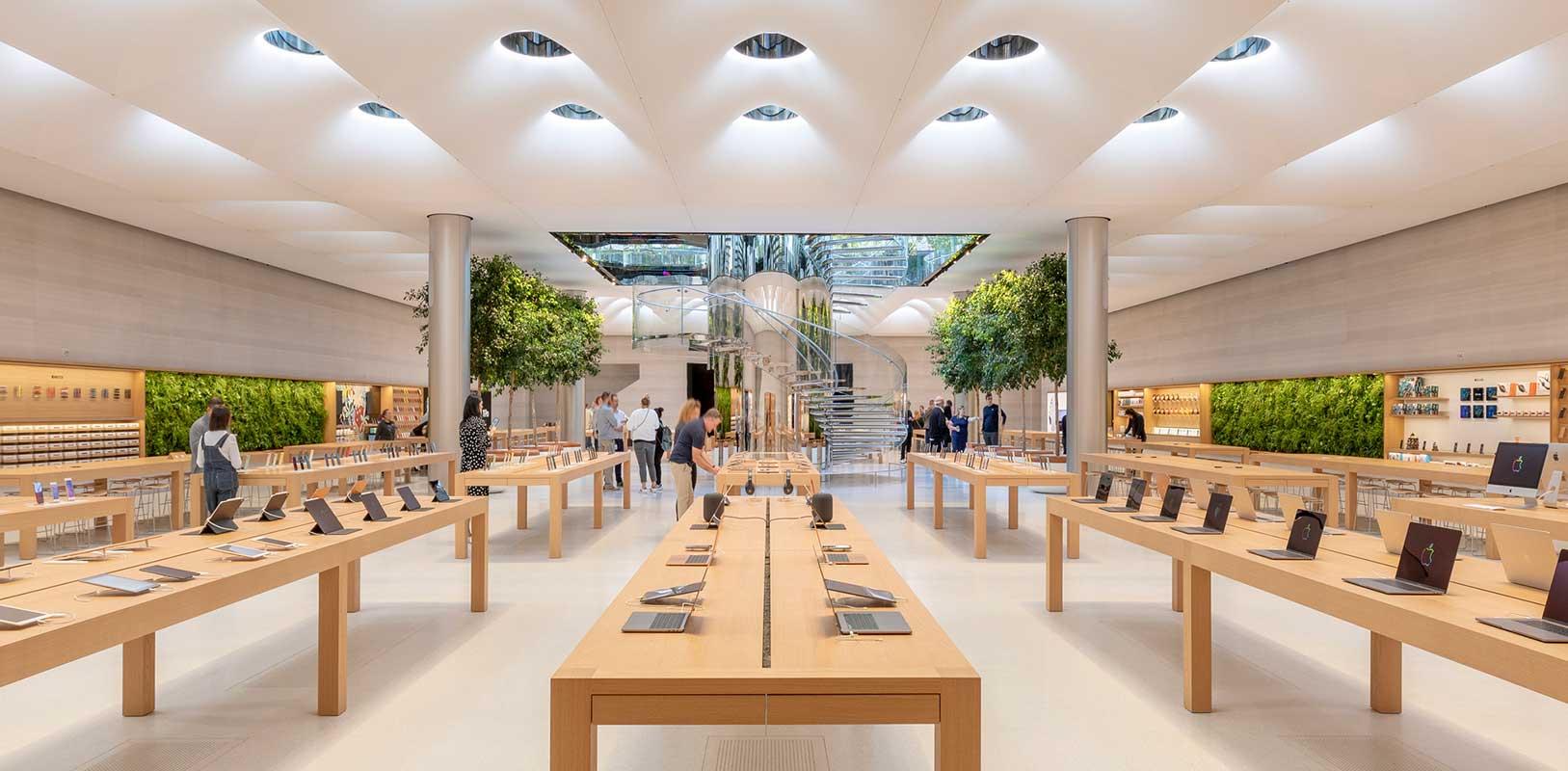 Mobiliario Apple Store New York