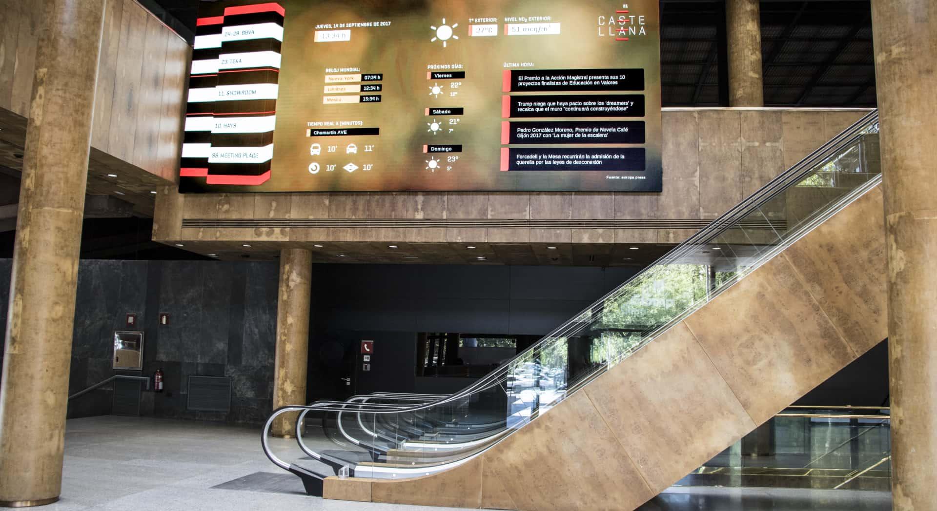 Digitalización de edificio Castellana 81 en Madrid