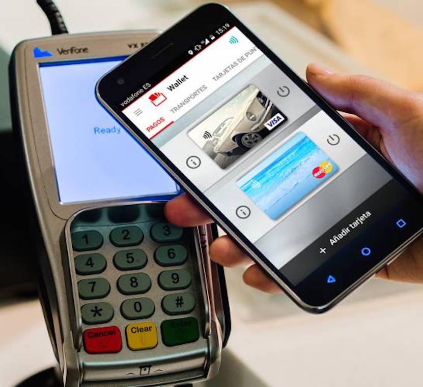 Tecnología NFC.pago con móvil
