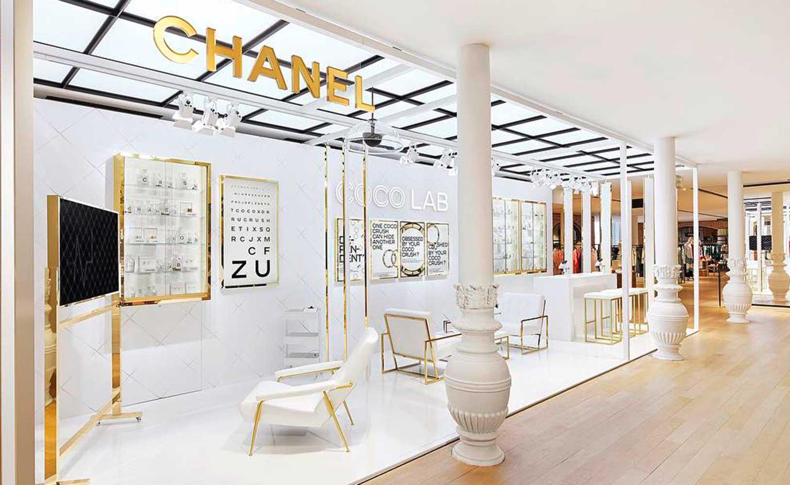 Chanel Coco Lab Pop-Up experiencia de cliente