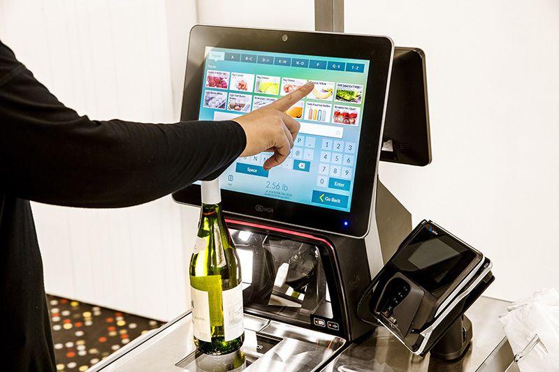 Caja digital para supermercados