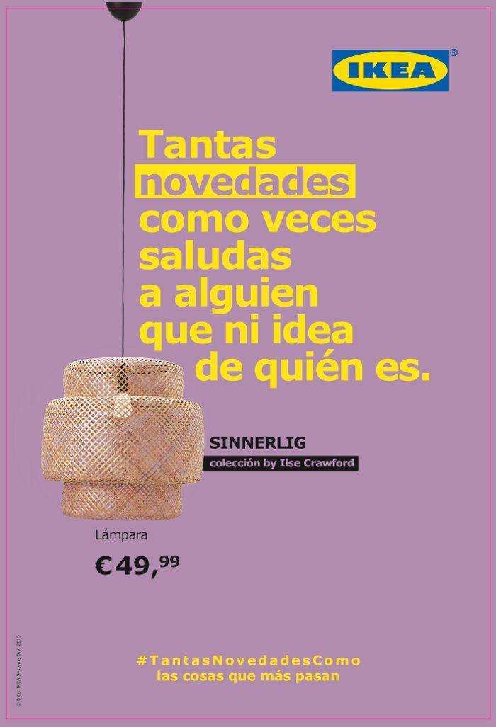 Cartel publicitario campaña Ikea