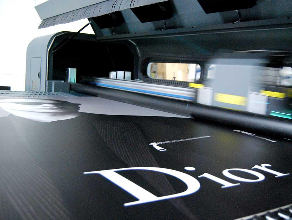 Impresión digital en soporte rígido PVC