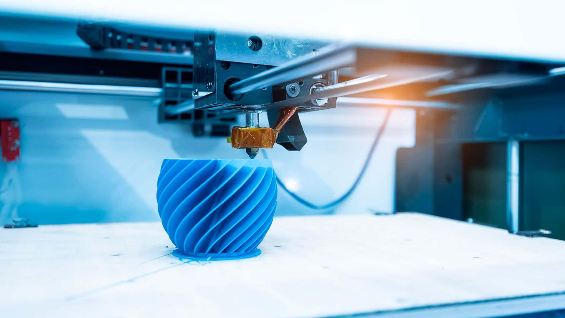 Objeto impreso con impresora 3D