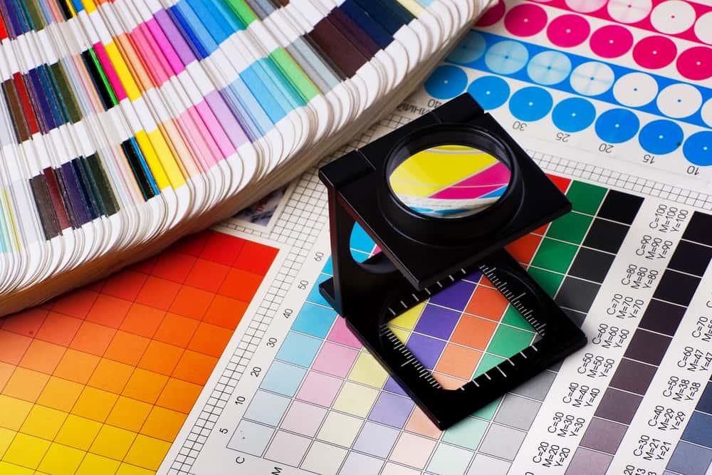 Proceso selección de color con cuentahilos