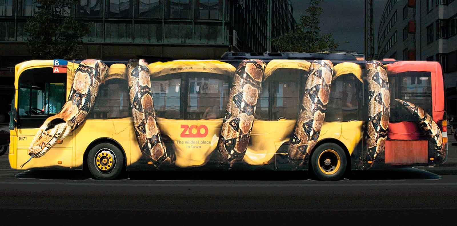 Acción street marketing para zoo Copenhague