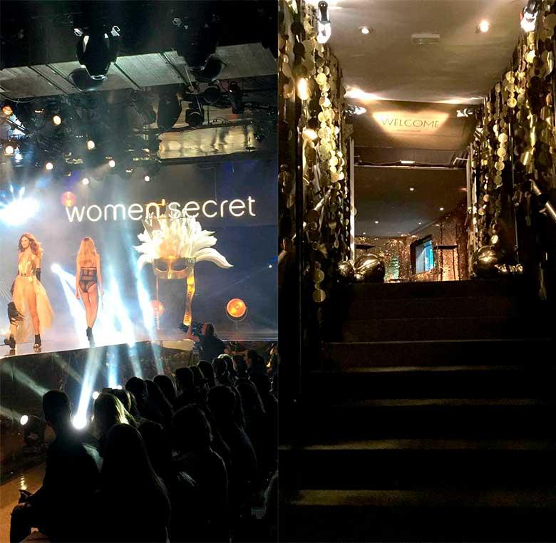 Evento Women'Secret decoración en sala La Riviera