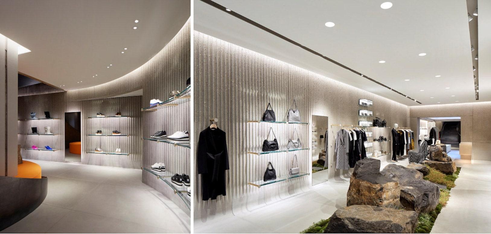 Disenio-luminico-para-destacar-los-productos-en-exhibicion-tienda-de-Stella-McCartney