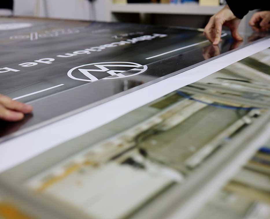 Producción gráfica para evento lanzamiento Volkswagen ID4