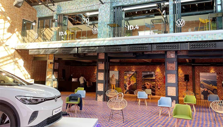 Producción e instalación evento para Volkswagen: el lanzamiento del nuevo ID4