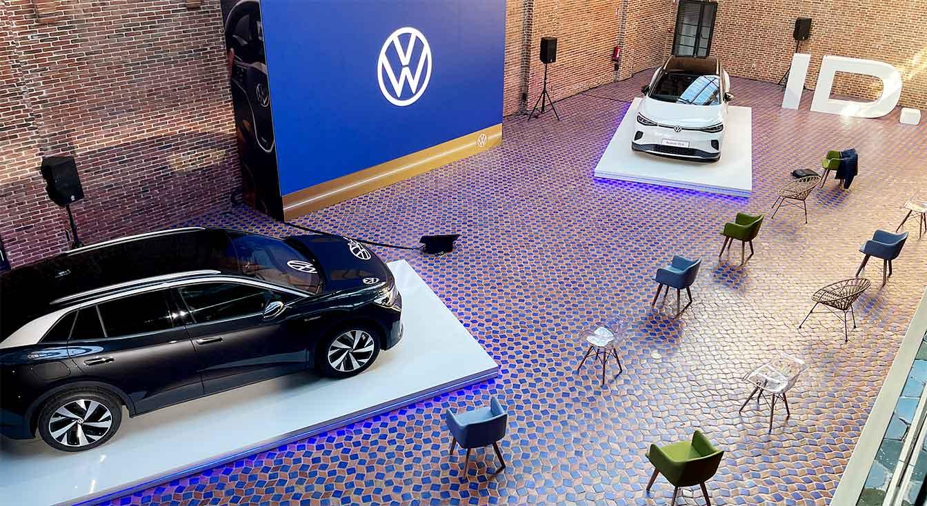Producción instalación integral de evento Volkswagen ID4