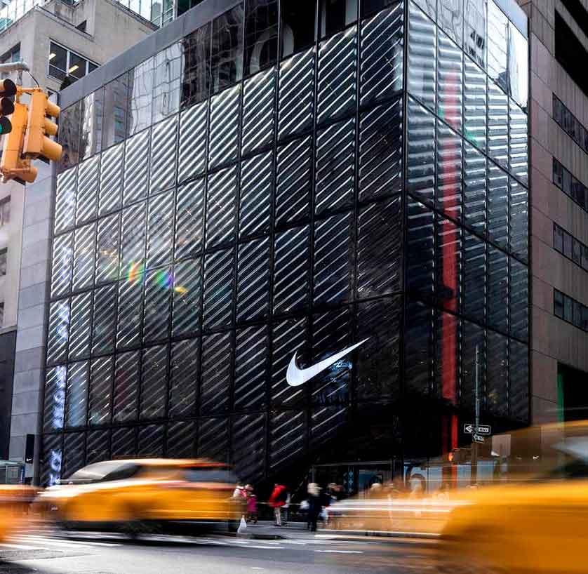 Tienda Nike plus quinta avenida Nueva York