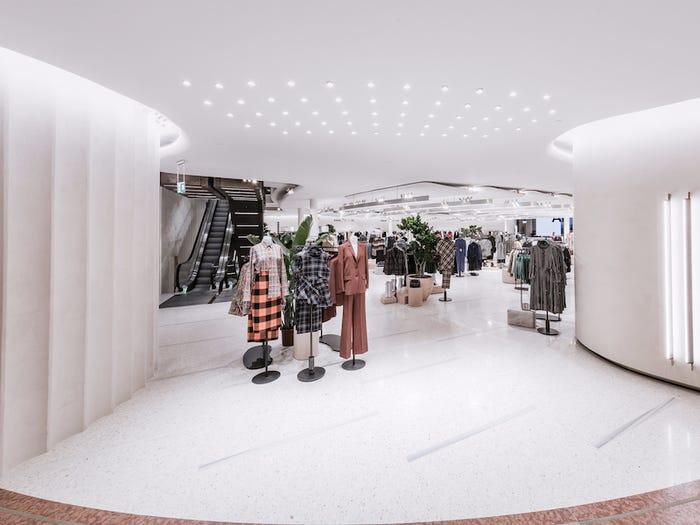 Zara store Milan