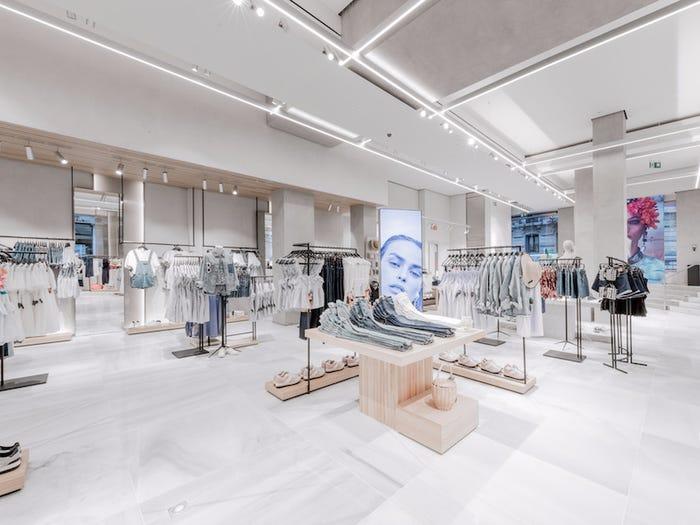 Zara store Bilbao