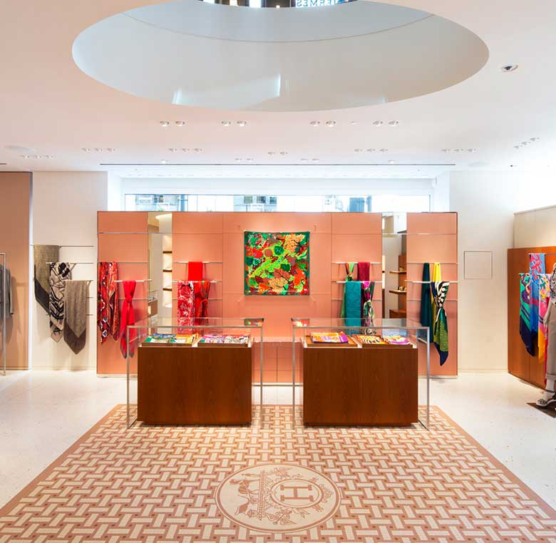 Hermès Bond street flagship London