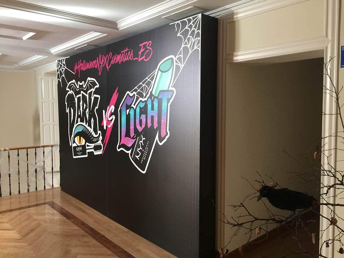 instore-clientes-NYX-decoracion-photocall-eventos-empresas