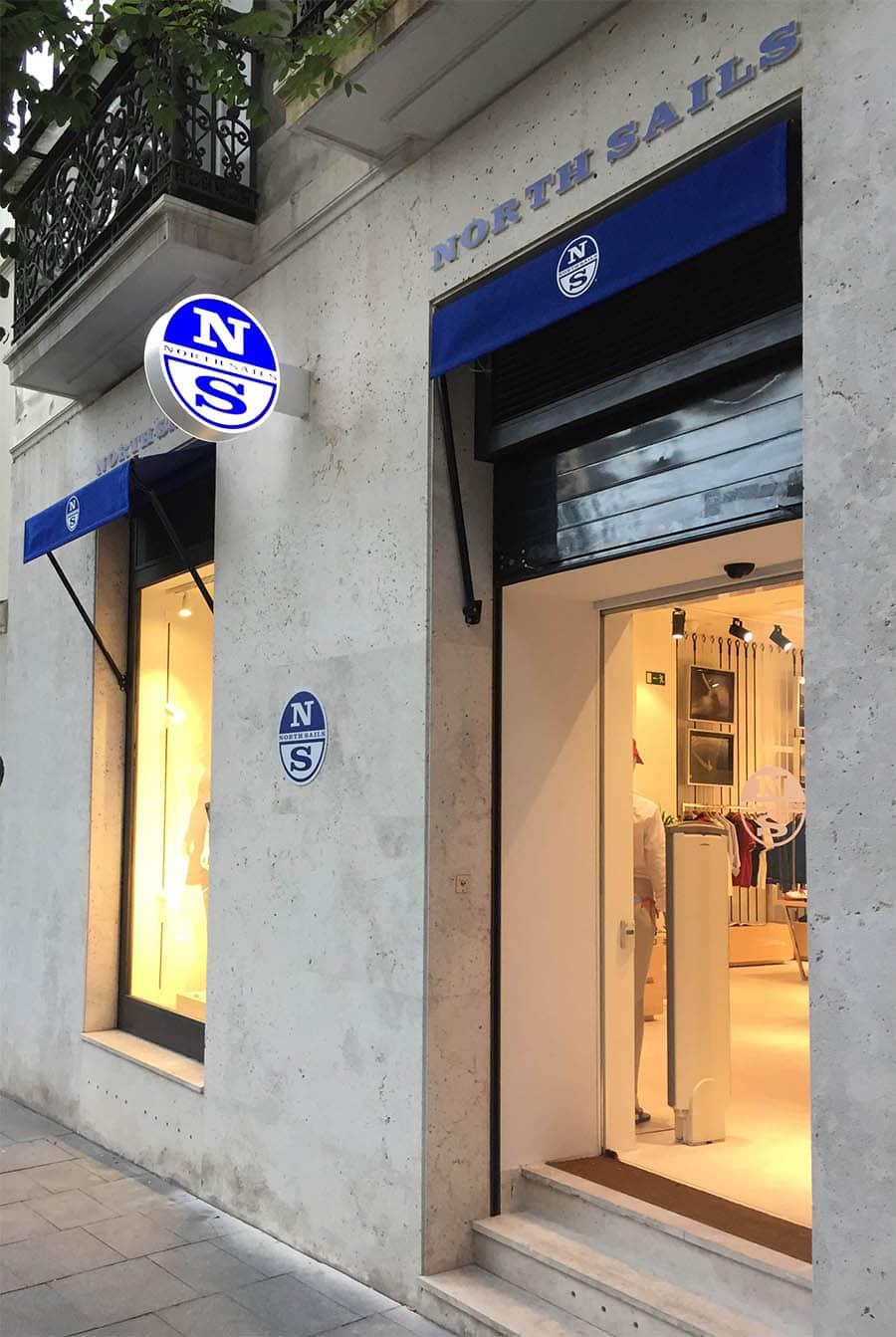 instore-clientes-north-sails-produccion-rotulo-luminoso