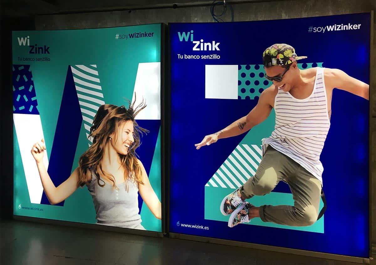 instore-clientes-wizink-carteleria-digital-gran-formato