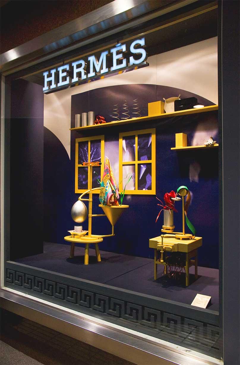 instore-clientes-hermes-impresion-de-vinilo
